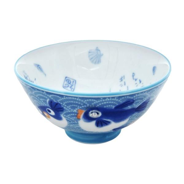 "Tokyo Design - ""Kawaii Blue Fish"" Bowl, 11,2x6cm"