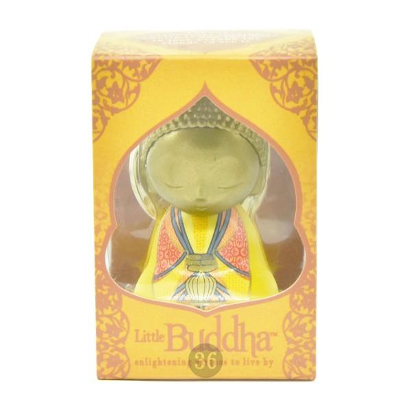 Little Buddha Schlüsselanhänger in gold/gelb