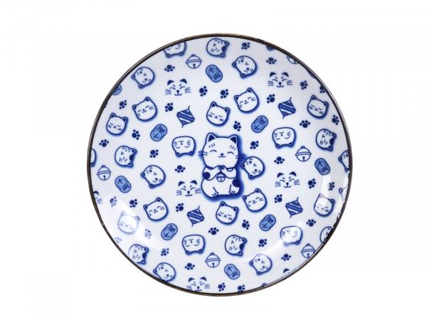 LUCKY CAT BLUE TELLER   TOKYO DESIGN   Ø25,3CM