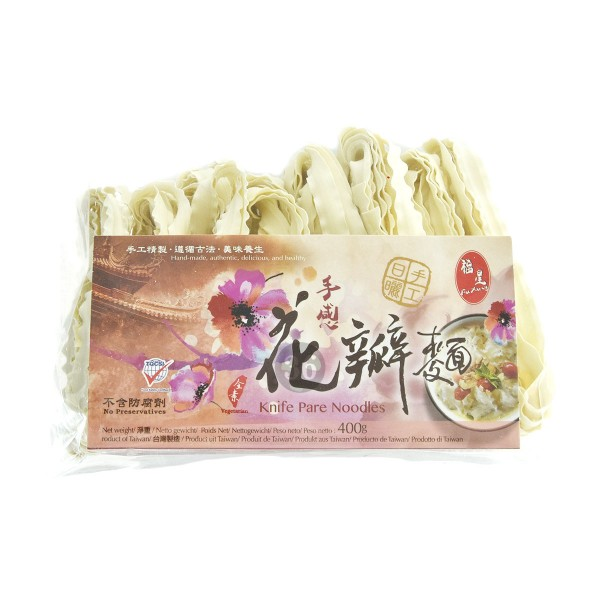 Fu Xing - handgemachte taiwanesische Nudeln, 400g