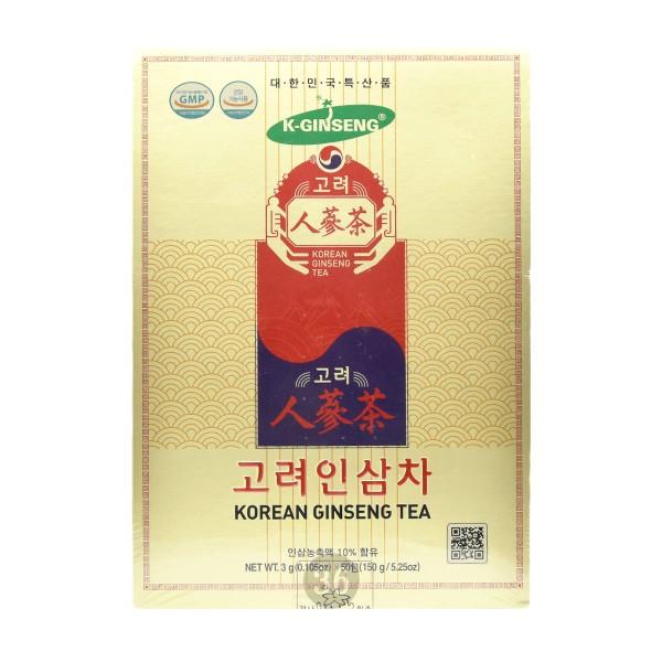 Ginseng Research - Instant-Getränk mit weißem Ginseng, 50 Päckchen