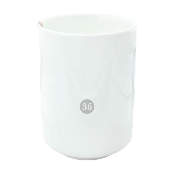 """Tokyo Design - """"White"""" Becher, 10x7,5cm"""