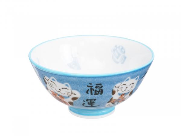 KAWAII CAT BLUE BOWL | Ø11,2CM | H6CM | 250ML
