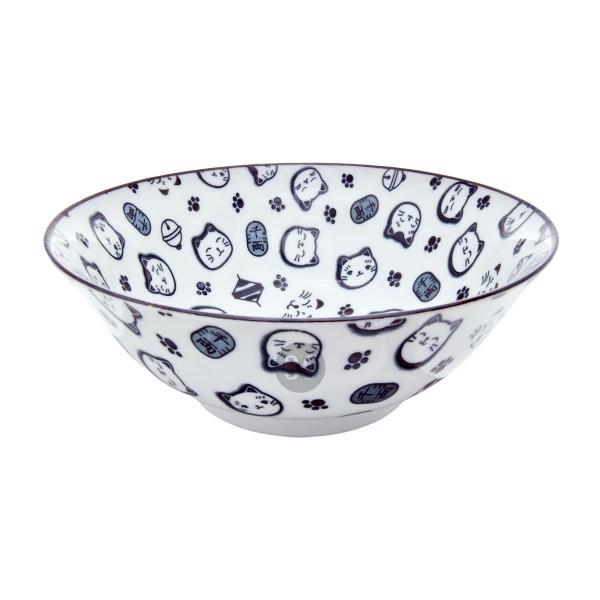 "Tokyo Design - ""Lucky Cat Black"" Bowl, 18,2x7,7cm"