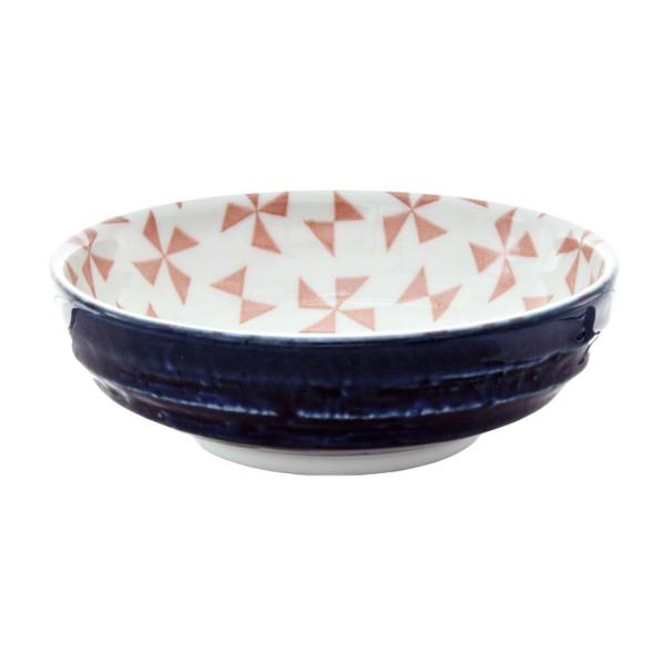 "Tokyo Design - ""Geometric Dark Blue"" Bowl, 9,5x3cm"