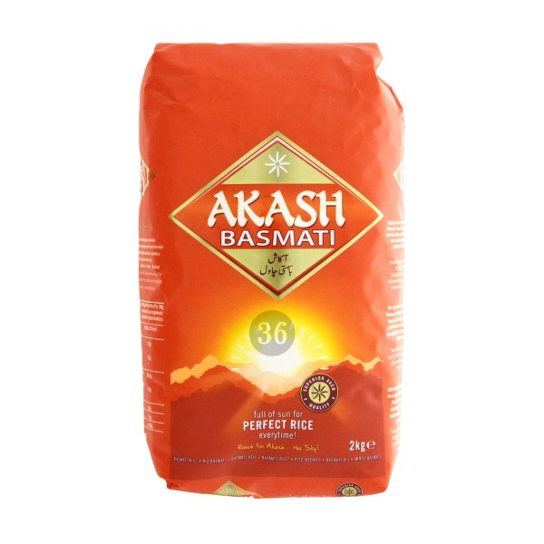 Akash - Basmati-Reis, 2kg