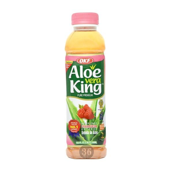 OKF - Aloe-Vera-Getränk mit Himbeere, 500ml