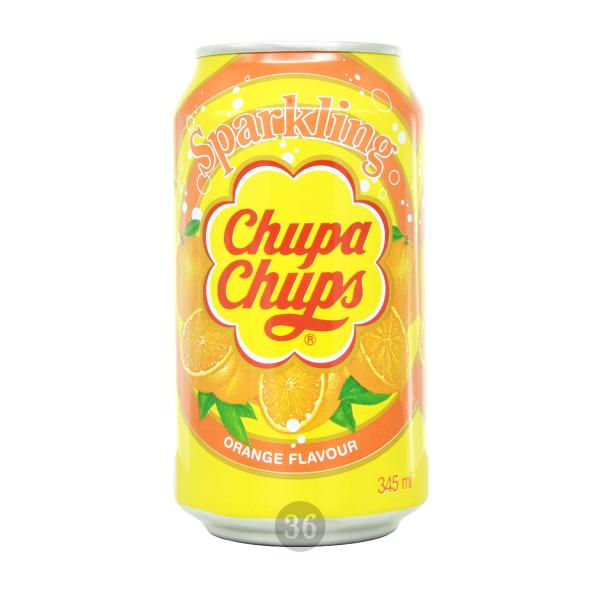 Chupa Chups - Orangen-Limo, 345ml
