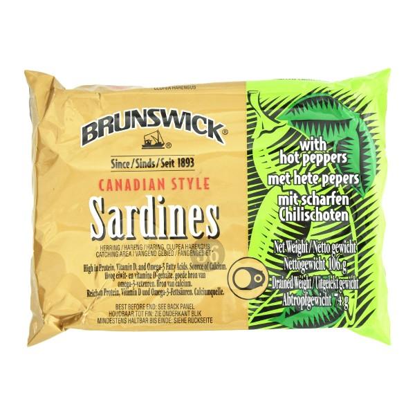 Brunswick - Sardinen mit Chili, 106g