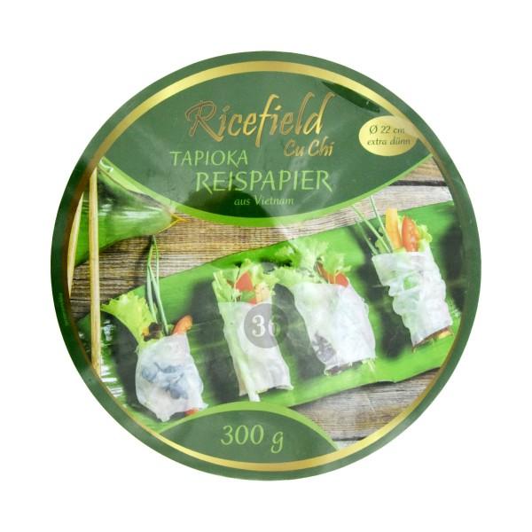 Ricefield - Tapioka-Reispapier für Sommerrolle, 300g