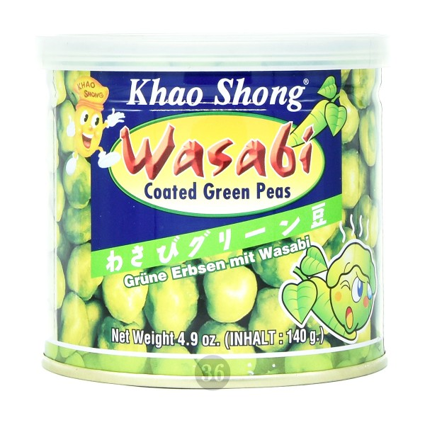 Khao Shong - Erbsen mit Wasabi-Teigmantel, 140g