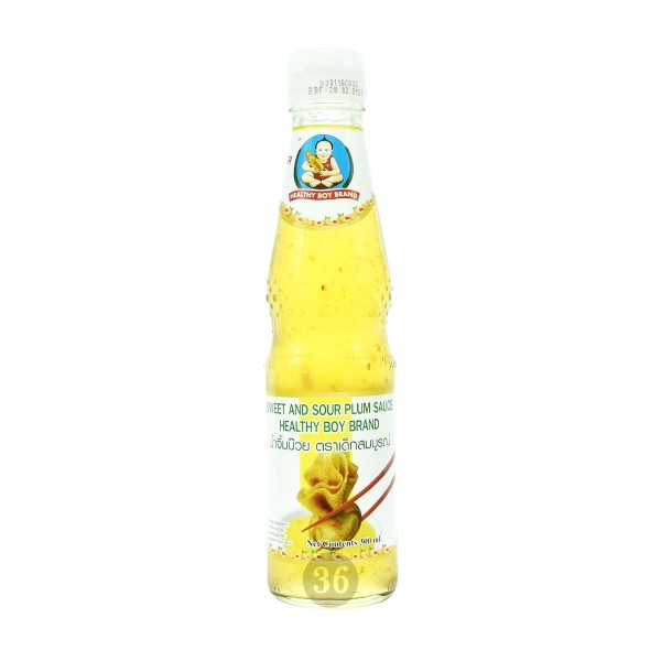 Healthy Boy Brand - süß-saure Pflaumensoße, 300ml