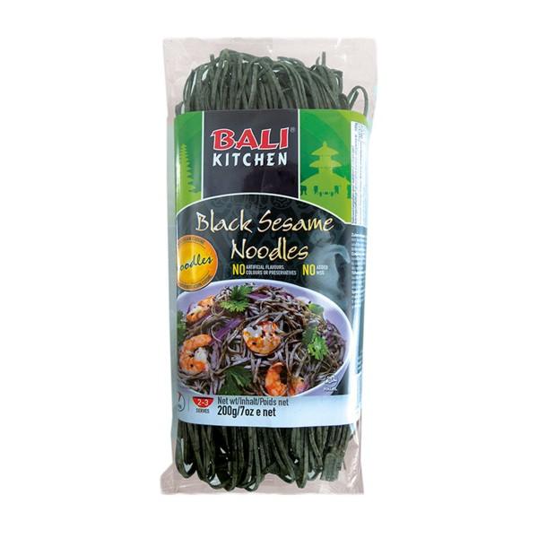 Bali Kitchen - Schwarze Sesam Nudeln, 200g