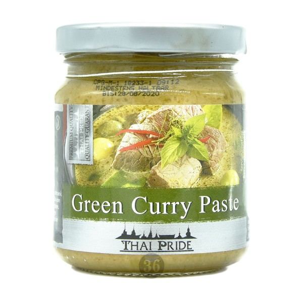 Thai Pride - Grüne Curry-Paste, 195g