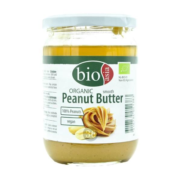 Bio Asia - Organische Erdnussbutter, 500g