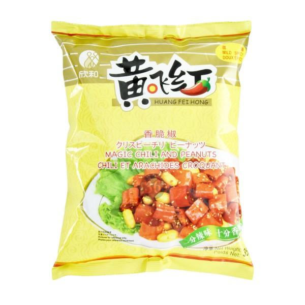 HFH - Knusprige Erdnüsse und Chilis, 350g