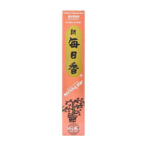 """Nippon Kodo - Räucherstäbchen """"Myrrhe"""" inkl. Halterung, 50Stück"""