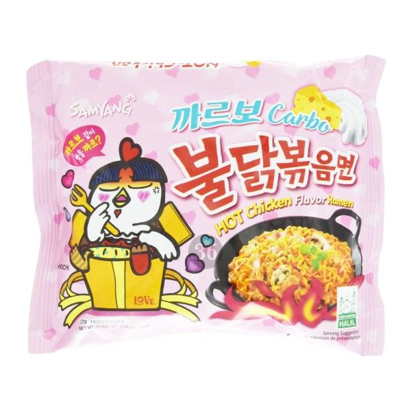 """Samyang - Instantnudeln """"Hot Chicken Carbonara"""", 130g"""