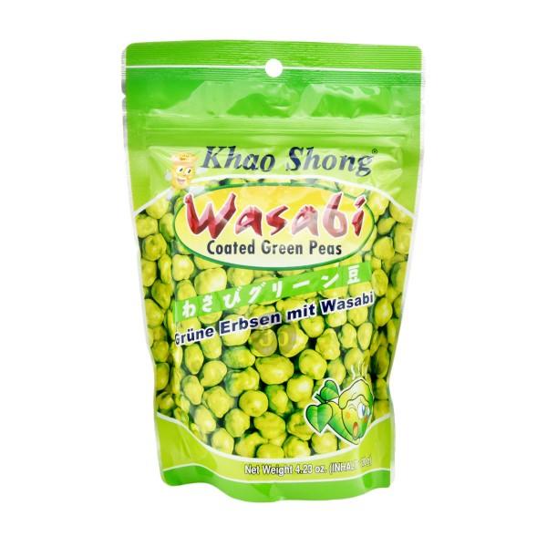 Khao Shong - Grüne Erbsen mit Wasabi, 120g