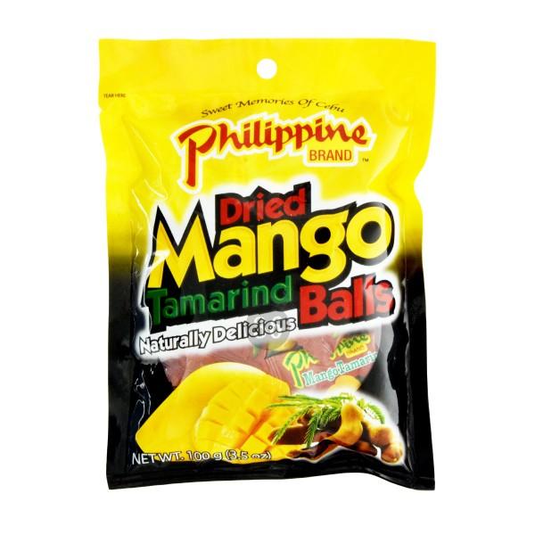 Philippine Brand - Mango-Tamarinde-Snack, 100g