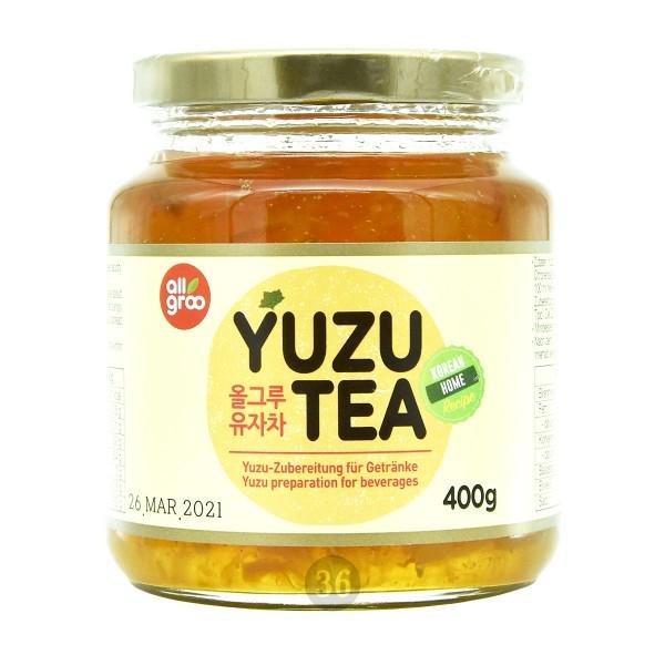 AllGroo - Yuzu-Tee-Konzentrat, 400g
