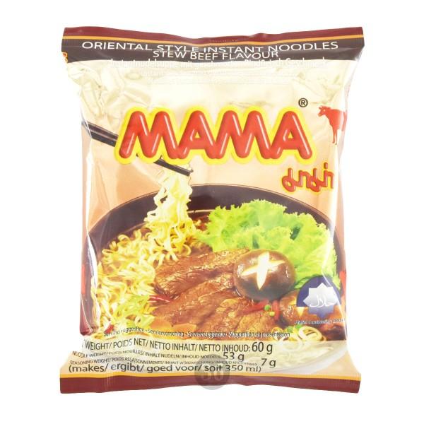 "Mama - Instantnudeln ""Stew Beef"", 60g"