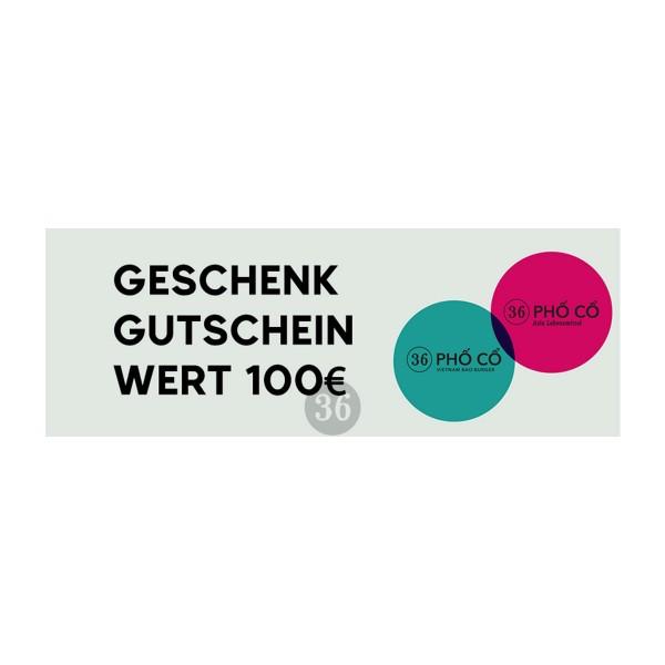 Geschenkgutschein - 100€