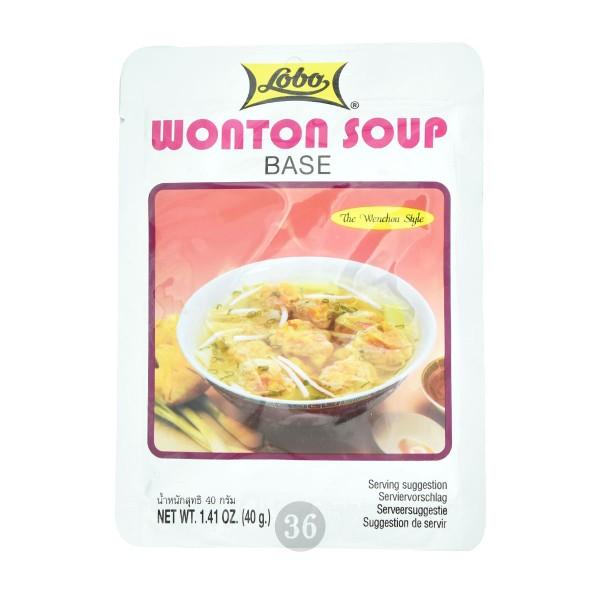 Lobo - Würzmischung für Wan-Tan-Suppe, 40g