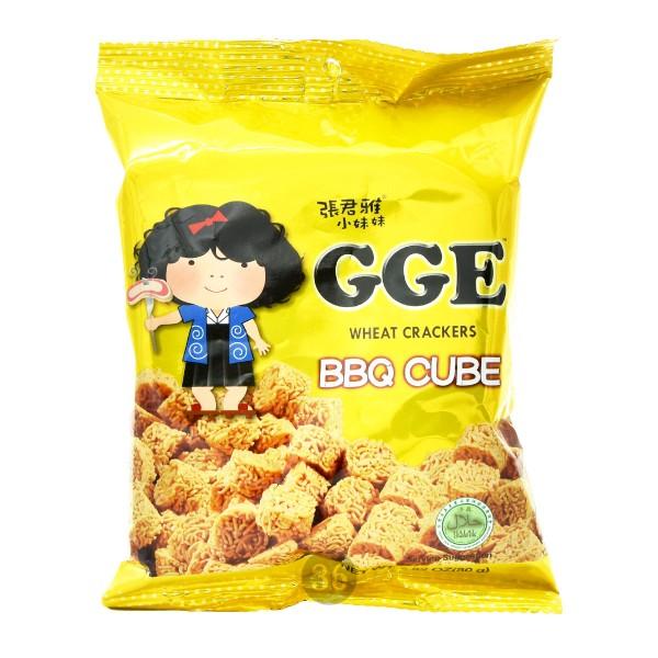 GGE - Weizen-Cracker mit japanischem BBQ-Geschmack, 80g