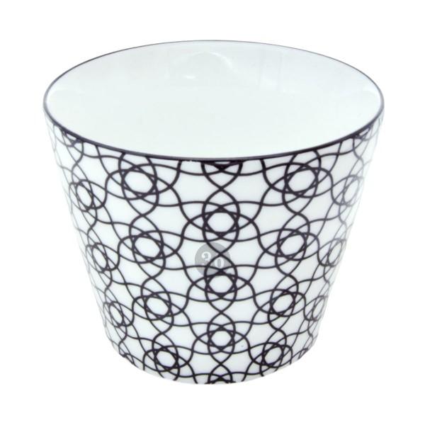 """Tokyo Design - """"Black Stripe"""" Becher, 180ml"""