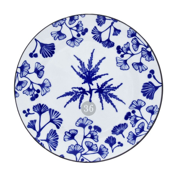 "Tokyo Design - ""Flora Japonica Maple"" Teller, 25,7x3cm"