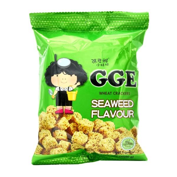 GGE - Weizen-Cracker mit Meeresalgen-Geschmack, 80g