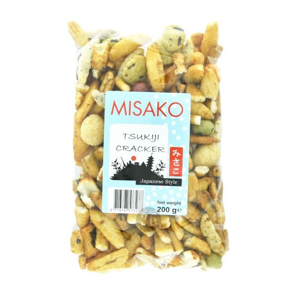 Misako - Tsukiji-Mix aus Reiscrackern und Erdnüssen, 200g