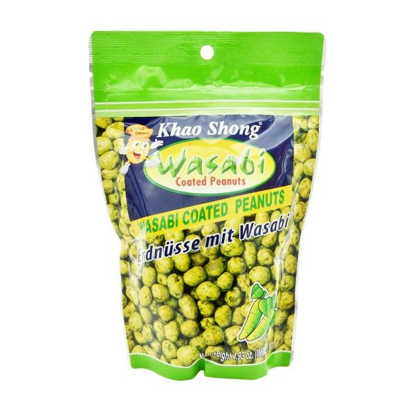Khao Shong - Erdnüsse mit Wasabi, 140g
