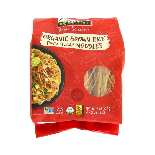 Explore Cuisine - Braune Bio-Reis Pad Thai-Nudeln, 227g