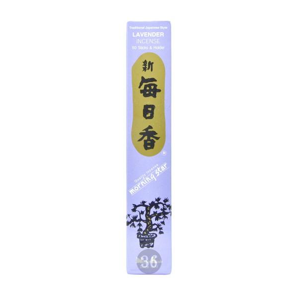 """Nippon Kodo - Räucherstäbchen """"Lavendel"""" inkl. Halterung, 50Stück"""