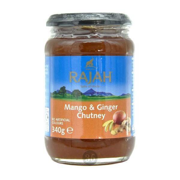Rajah - Mango & Ingwer Chutney, 340g