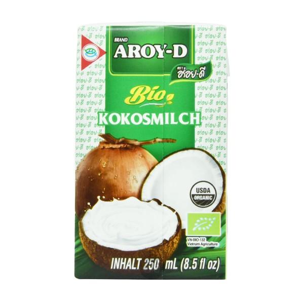 Aroy-D - Bio Kokosmilch, 250ml