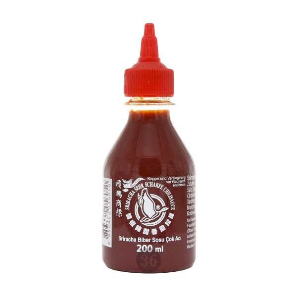 Flying Goose - Sriracha sehr scharf, 200ml