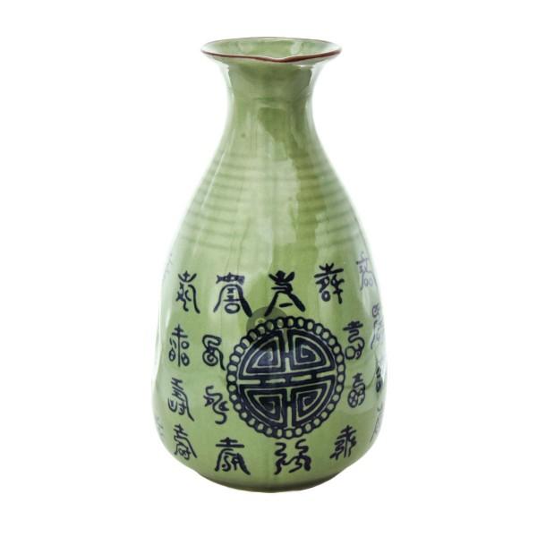 """Celadon Grün"" Sake-Flasche"