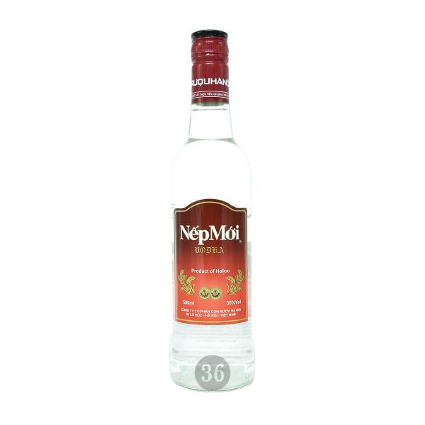 Halico - Vodka aus Klebreis, 500ml