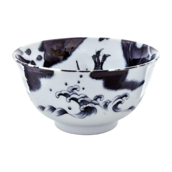 """Tokyo Design - """"Dragon Black"""" Bowl, 12,7x6,5cm"""
