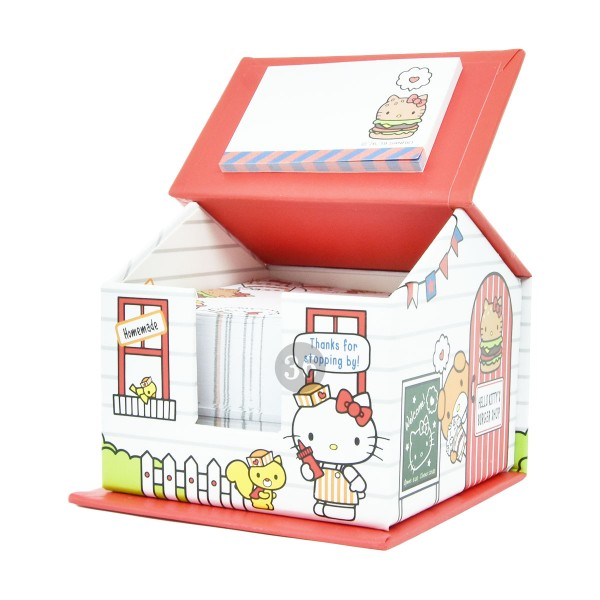 "Hello Kitty Notizzettelblock-Spender ""Burger Shop"""
