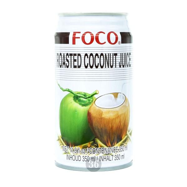 Foco - Kokosnussgetränk mit Röstaroma, 350ml