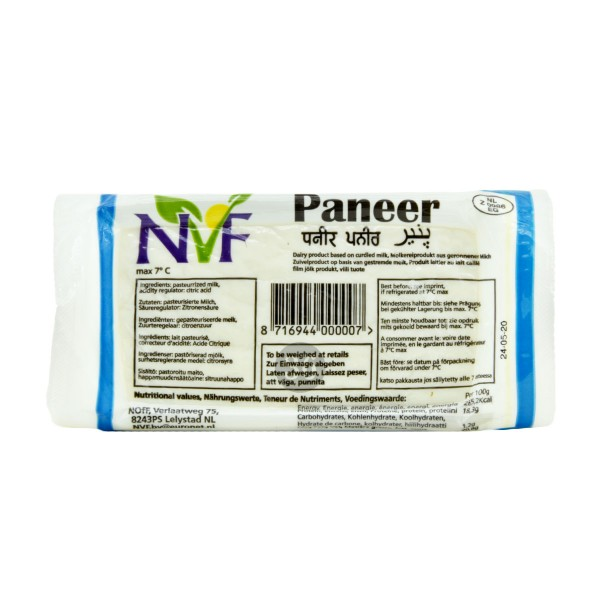 NVF - Indisches Paneer, 400g