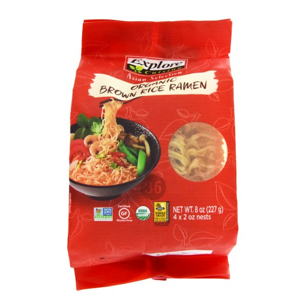 Explore Cuisine - Braune Bio-Reis-Ramen, 227g