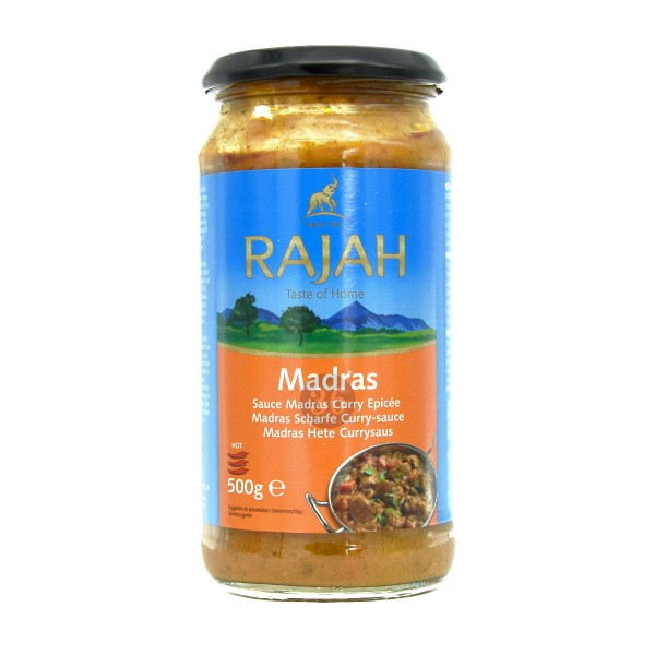 Rajah - Madras-Soße, 500g