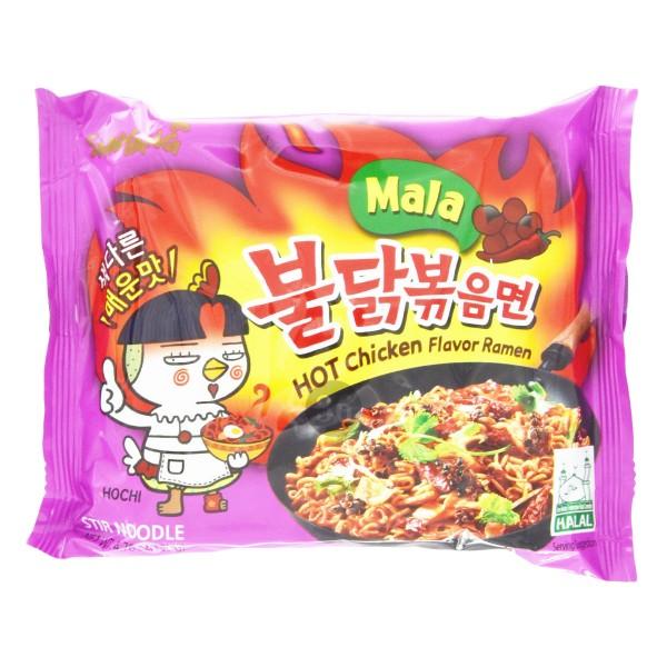 """Samyang - Instantnudeln """"Hot Chicken Mala"""", 135g"""