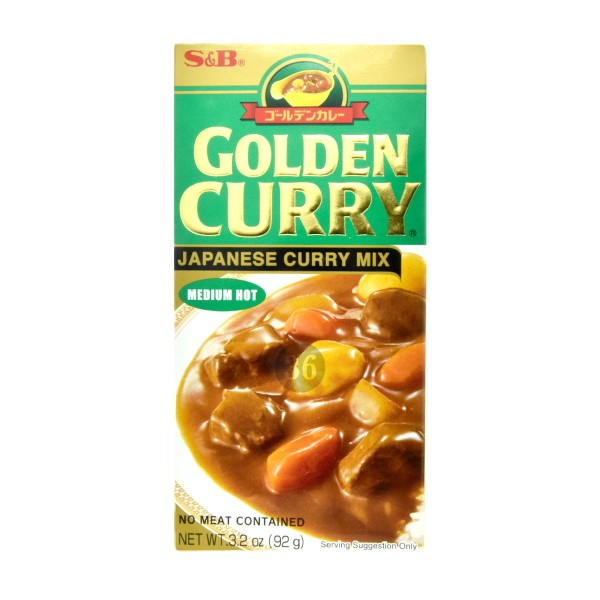 S&B - Japanischer Curry-Mix, 92g
