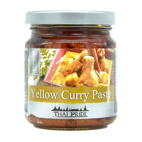Thai Pride - Gelbe Curry-Paste, 195g